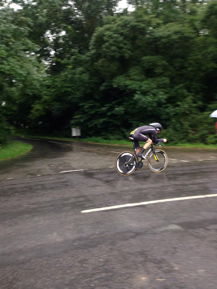 Tom Brook in the National 10 mile TT champs